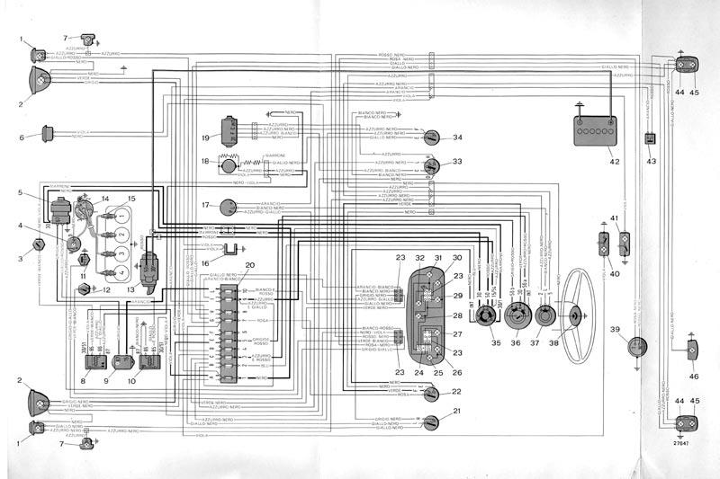 Schema elettrico fiat 500 n
