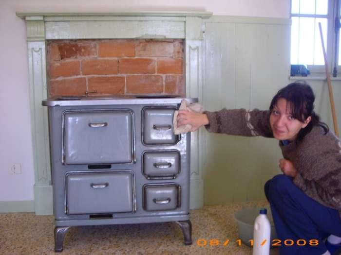 Restauro stufa - Stufe a legna occasione ...