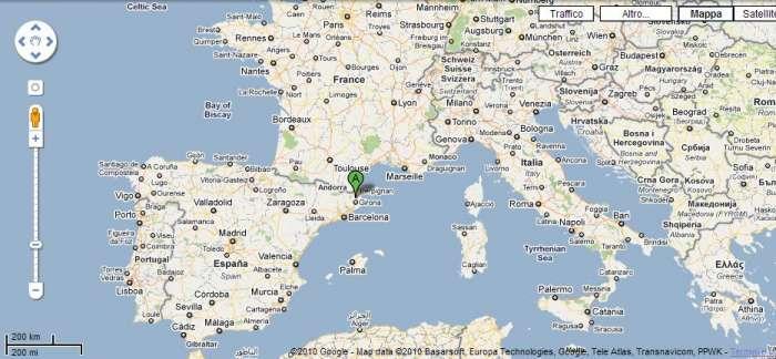 Cartina Italia Francia E Spagna.20th International Meeting Of 2cv Friends 2013 Spagna