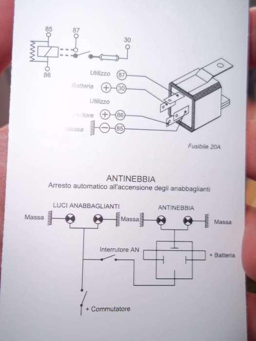 Schema Elettrico Per Fendinebbia : Schema elettrico fendinebbia fare di una mosca