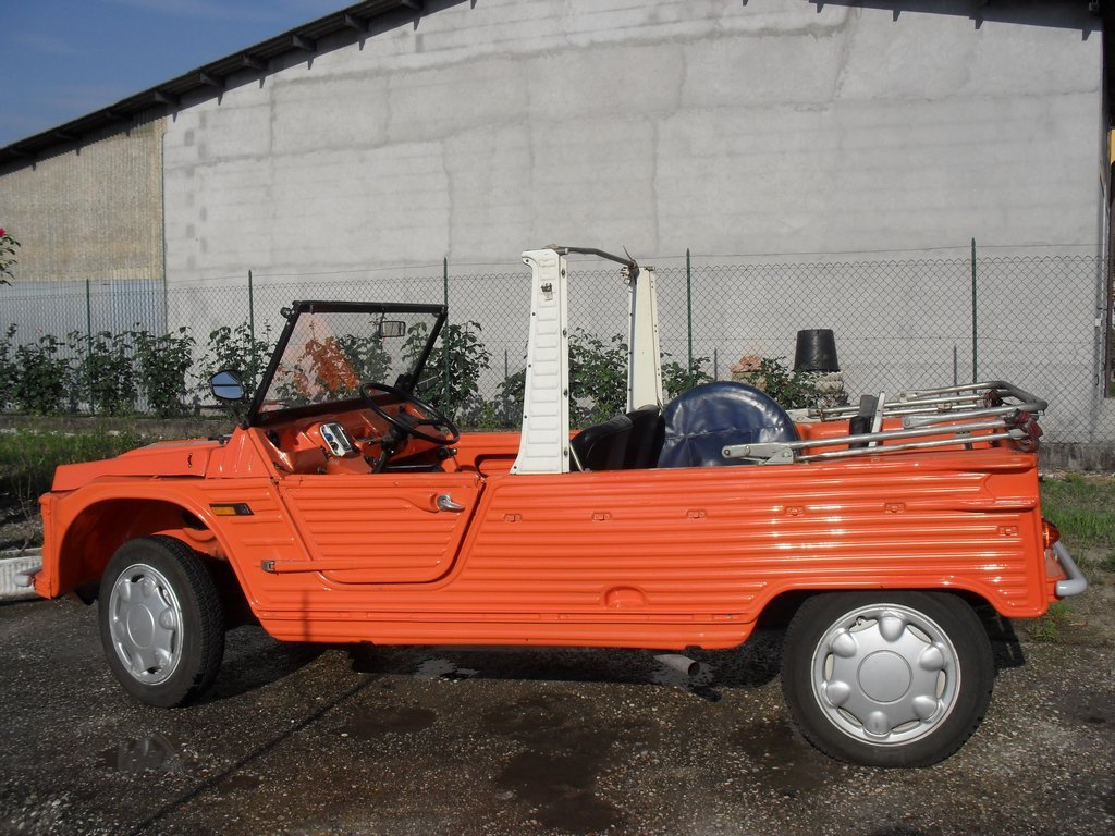 Buy the '72 Citroen Mehari,