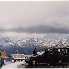 passo del grossklokner  luglio 2002