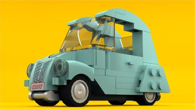 Lego Il Sito Internet Del Club Citroen 2cv Derivate Beinette