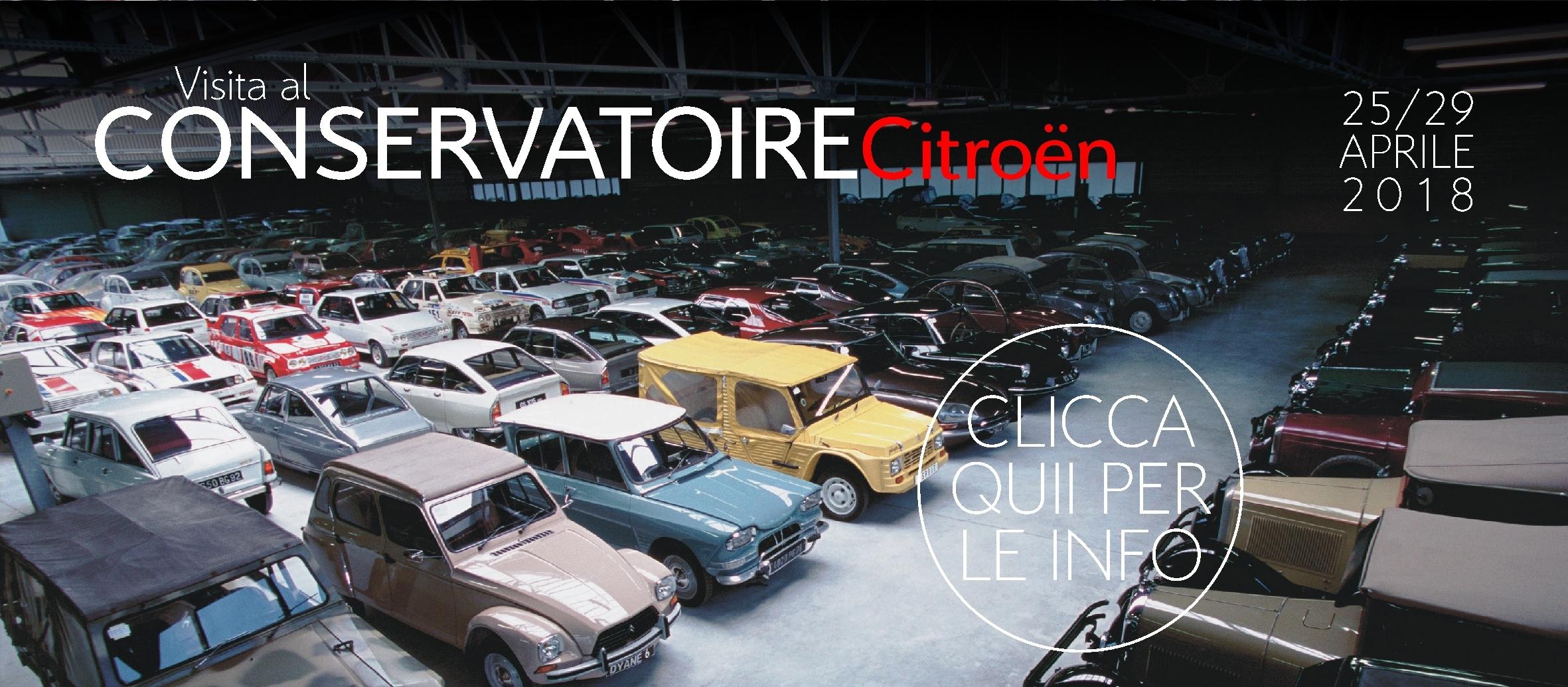 Visita al Conservatoire Citroën - clicca per info