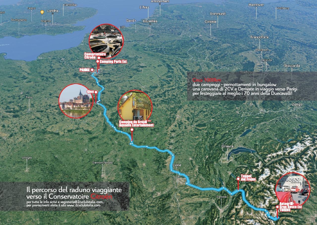 Mappa viaggio Conservatoire